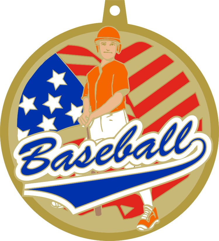 In-Stock Baseball/Softball Medallions