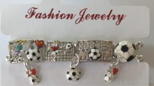 STRETCH SOCCER MOM BRACELET-3195