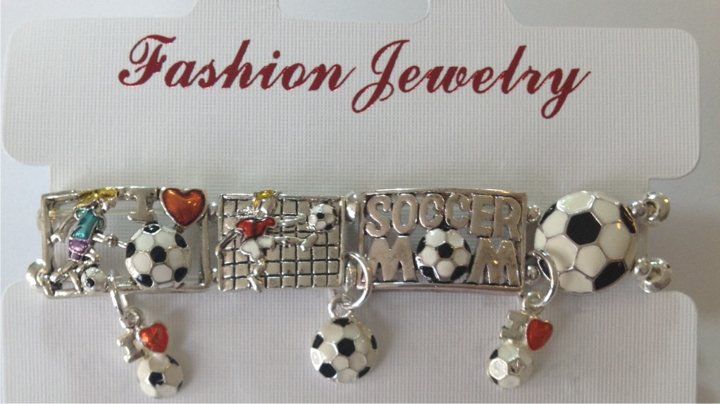 Soccer Pins & Jewelry