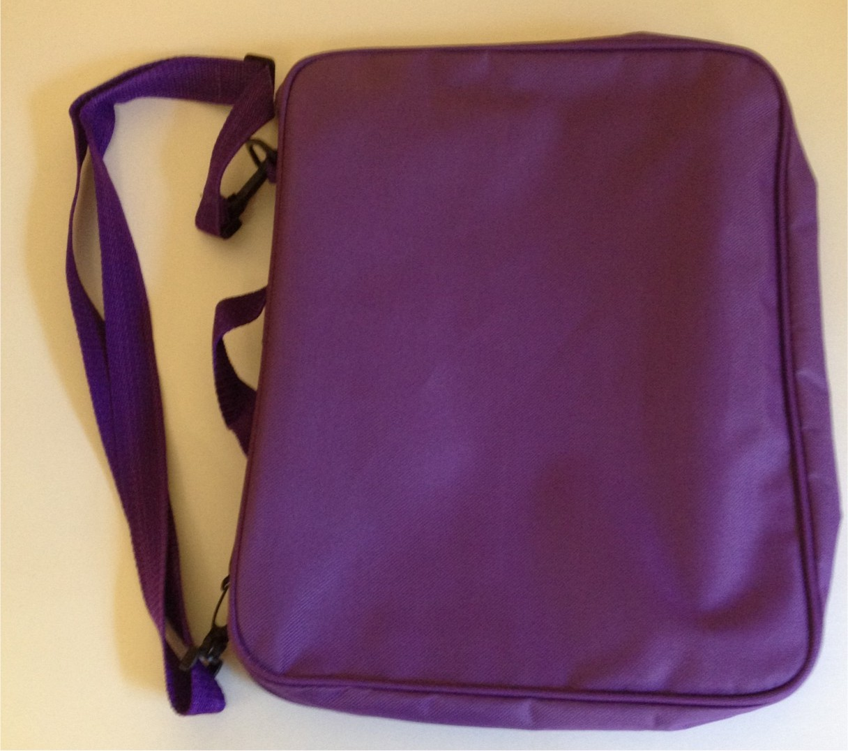 Large Purple Pin Bag, Measures 12″ x 14″ and Comes with Shoulder Strap