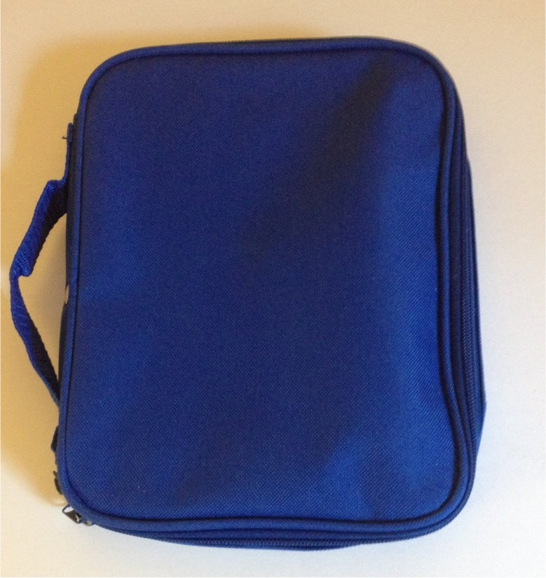 Small Royal Blue Pin Bag 8″ x 10″