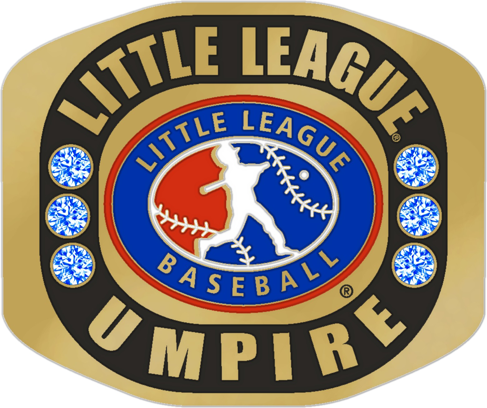 (NEW) LITTLE LEAGUE UMPIRE RING size 14